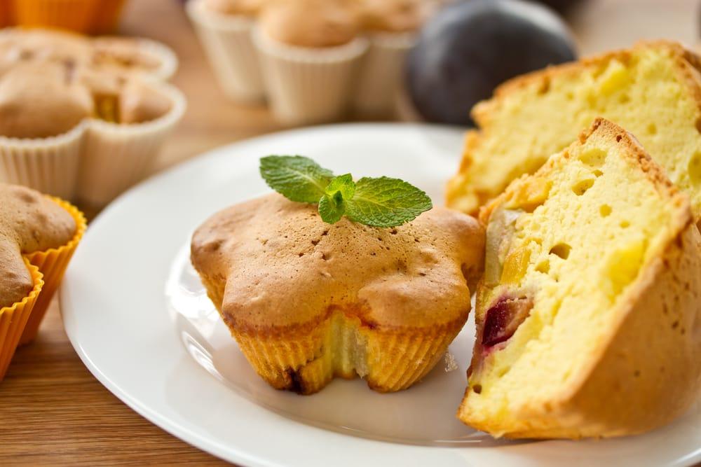 ricetta muffin di panettone