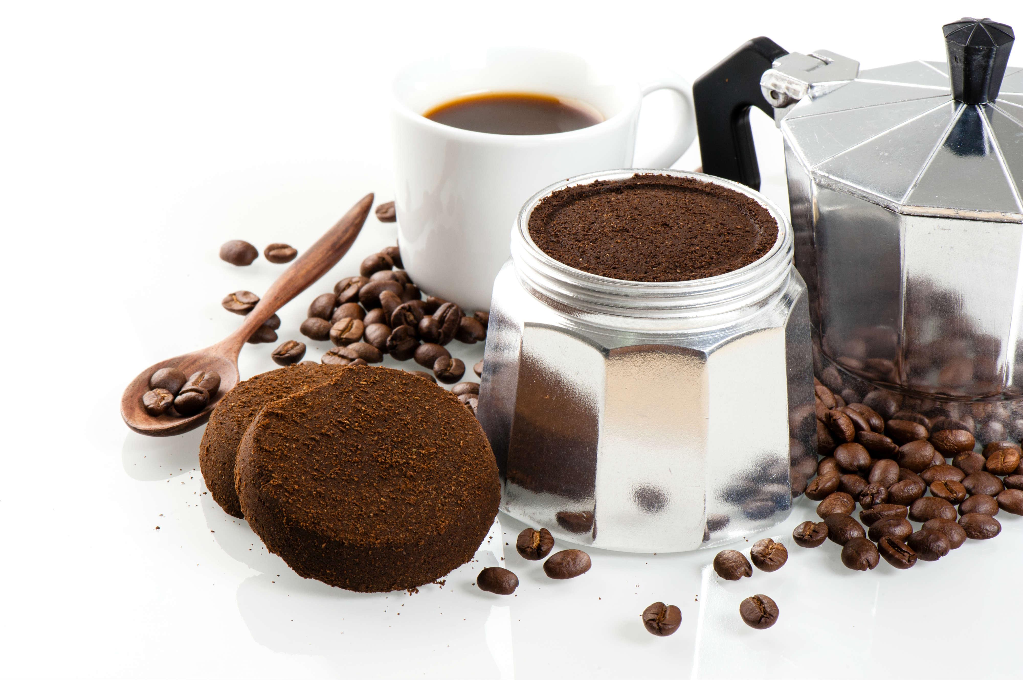 fondi di caffè per l'orto