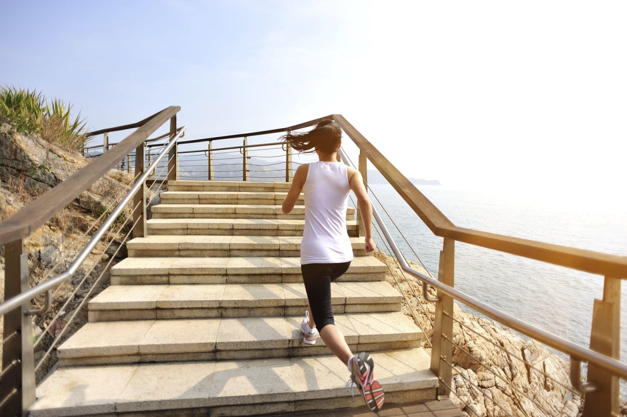 benefici scale a piedi
