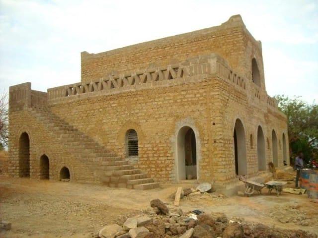 Case di fango in Mali