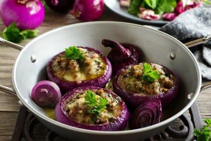 ricetta cipolle al forno gratinate