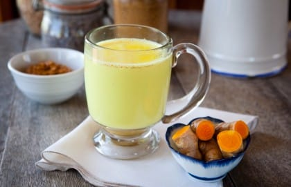 ricetta golden milk