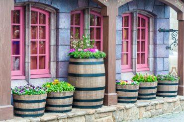 riciclo botti vino