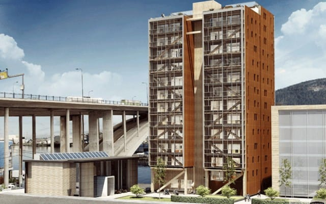 4grattacieli in legno