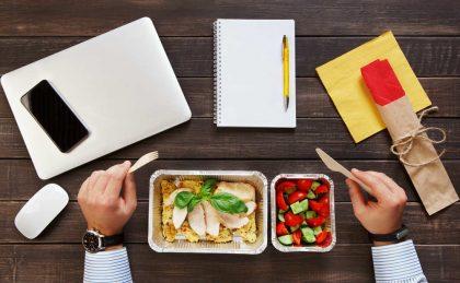 ricette per il pranzo in ufficio