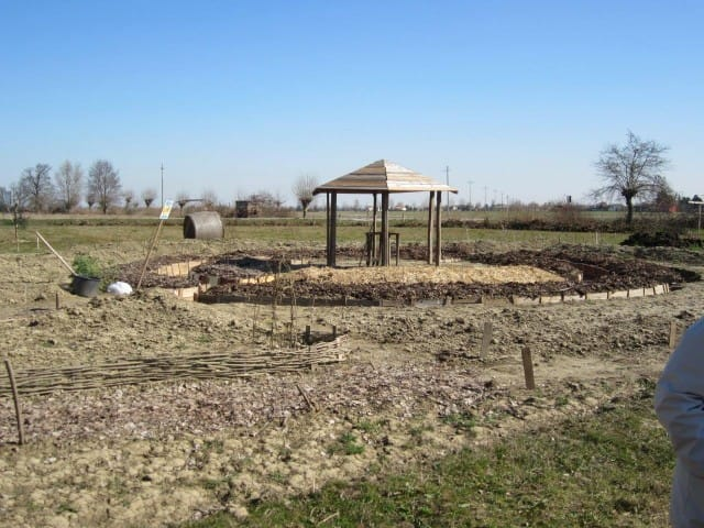 A Fiesso Umbertiano, in provincia di Rovigo, l'orto sinergico della Comunità Emmaus