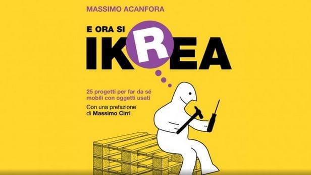 """Mobili in eco-pallet: nella guida """"Ikrea"""" le indicazioni per costruirli in maniera semplice"""