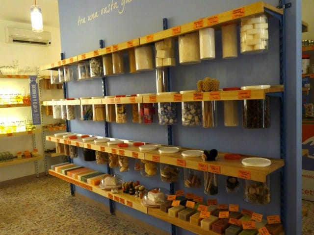 Negozi alla spina e senza imballaggi: ecco dove trovarli