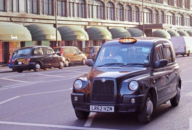 taxi elettrici londra