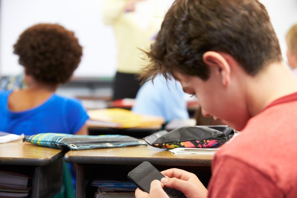 Smartphone in classe