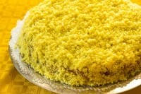 Torta Mimosa, un dolce gustoso perfetto per la colazione. La ricetta in versione vegan
