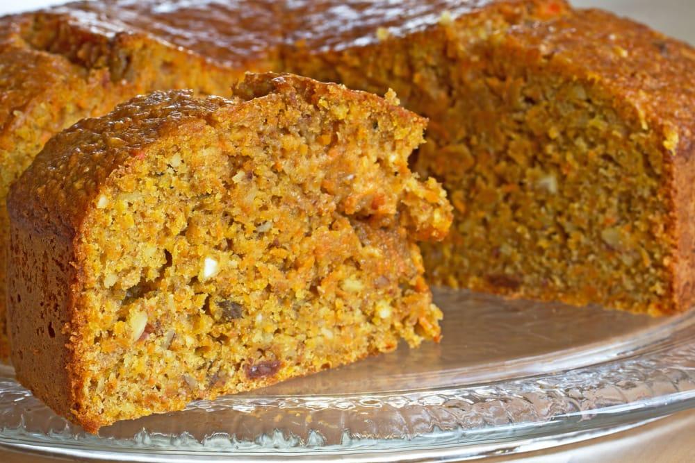 ricetta torta di carote vegan