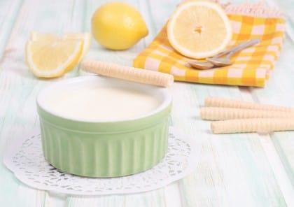 Crema di limone all'acqua: la ricetta golosa senza latte
