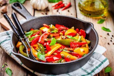 ricetta peperoni con il pangrattato