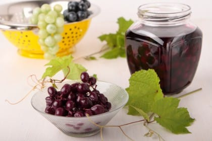 Ricetta uva sotto spirito