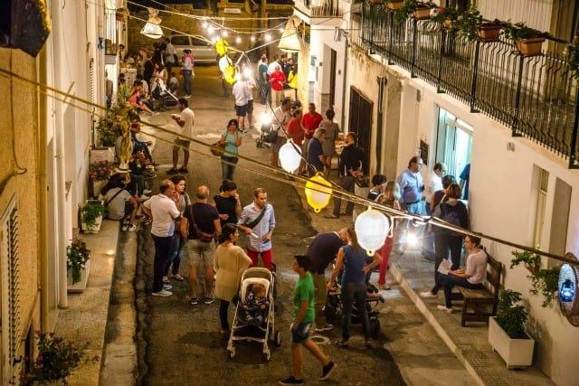 Cena al borgo di Tricase Porto