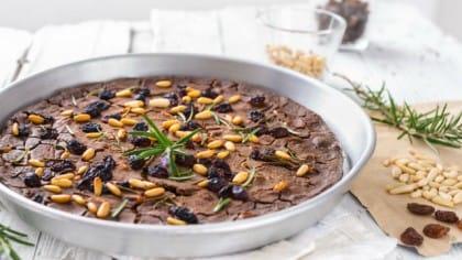 ricetta castagnaccio vegan