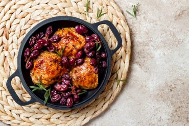 come preparare il pollo all'uva