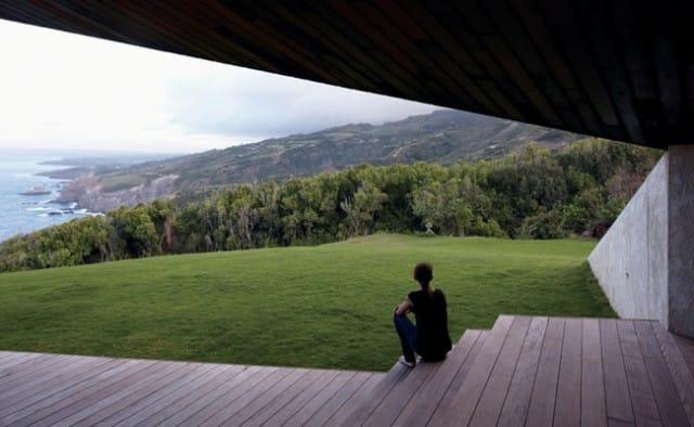 Casa di legno alle Hawaii