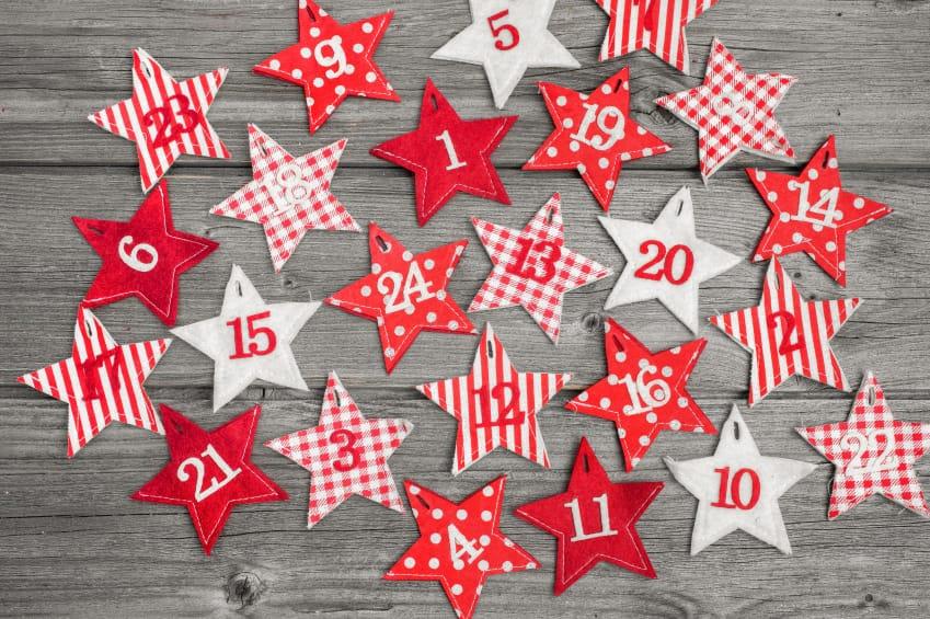 Super Calendario dell'avvento fai da te per bambini - Non sprecare KL58