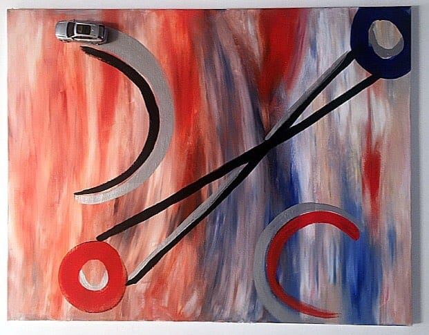 opere-arte-con-materiale-riciclato-cart-macchinine-mario-ricci (2)