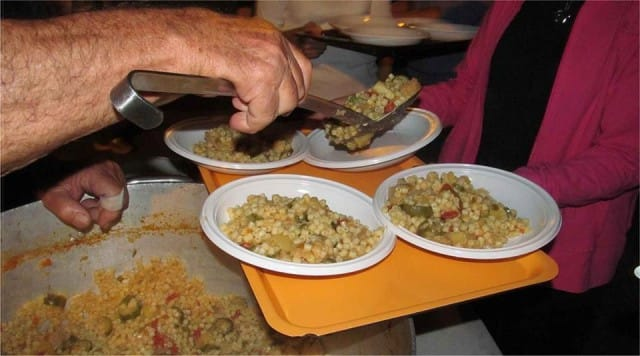 Pasti per i poveri Roma