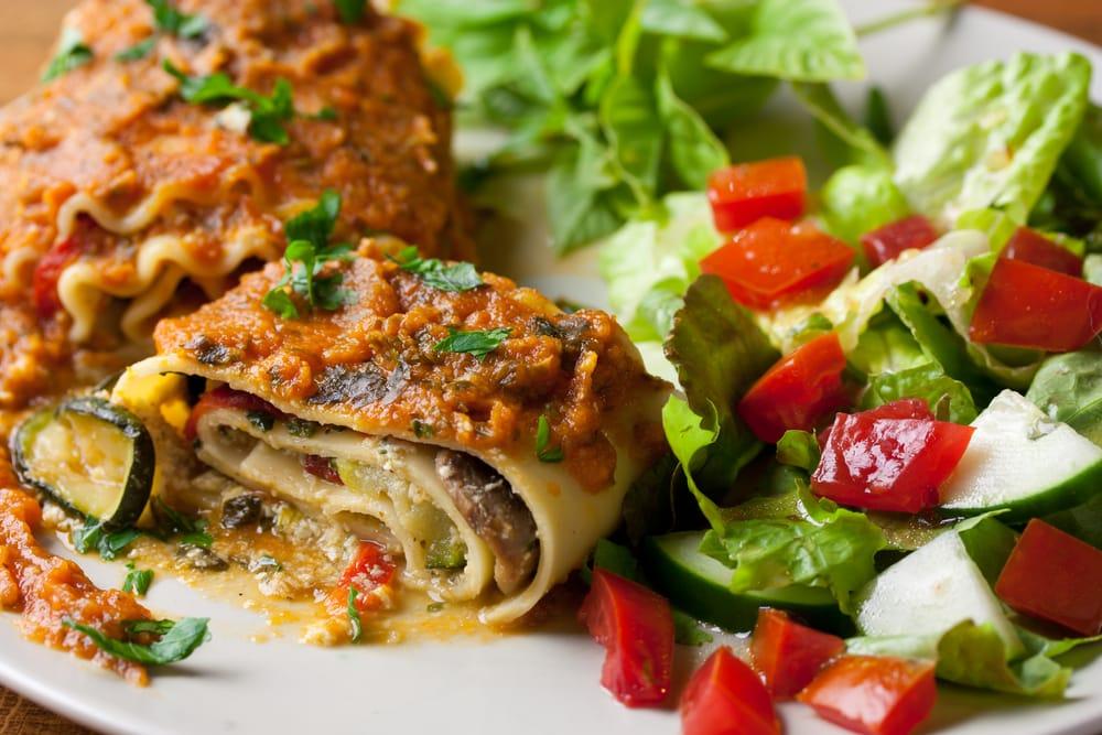 Ricetta Lasagne Vegane.Ricetta Girelle Di Lasagne Vegan Non Sprecare
