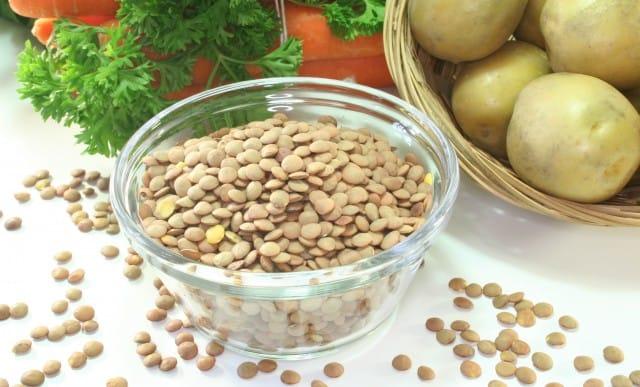 ricetta patè di lenticchie