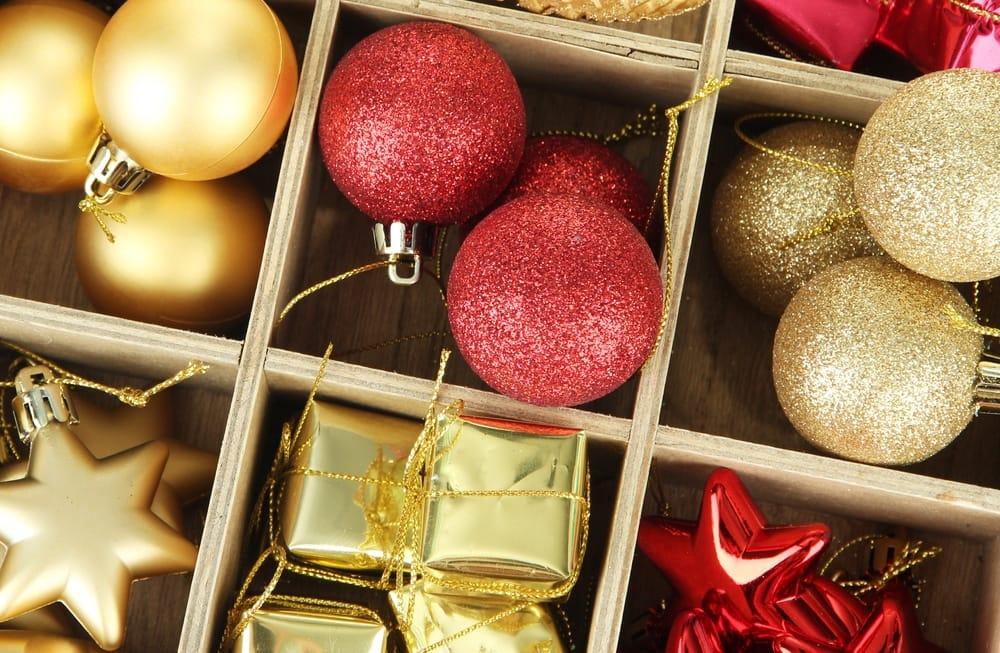 riciclo creativo delle decorazioni natalizie