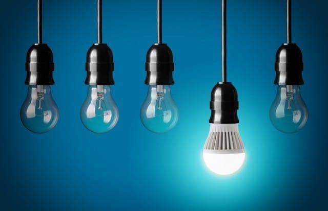 Risparmio energetico lampadine led non sprecare for Costo lampadine led
