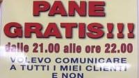 Pane e pizza gratis a Foggia. E chi fa il furbo, si è subito pentito