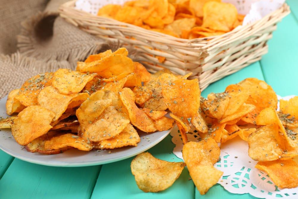 ricetta chips di patate