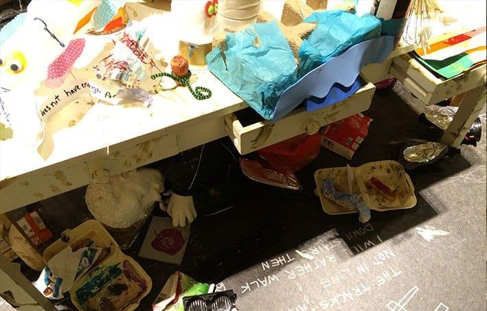 Sprechi di cibo il supermercato whole food a londra for Piano di abbozzo domestico