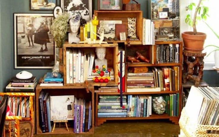 Come Fare Una Libreria A Muro.Riciclo Creativo Come Costruire Una Libreria In Cartone Foto Non Sprecare