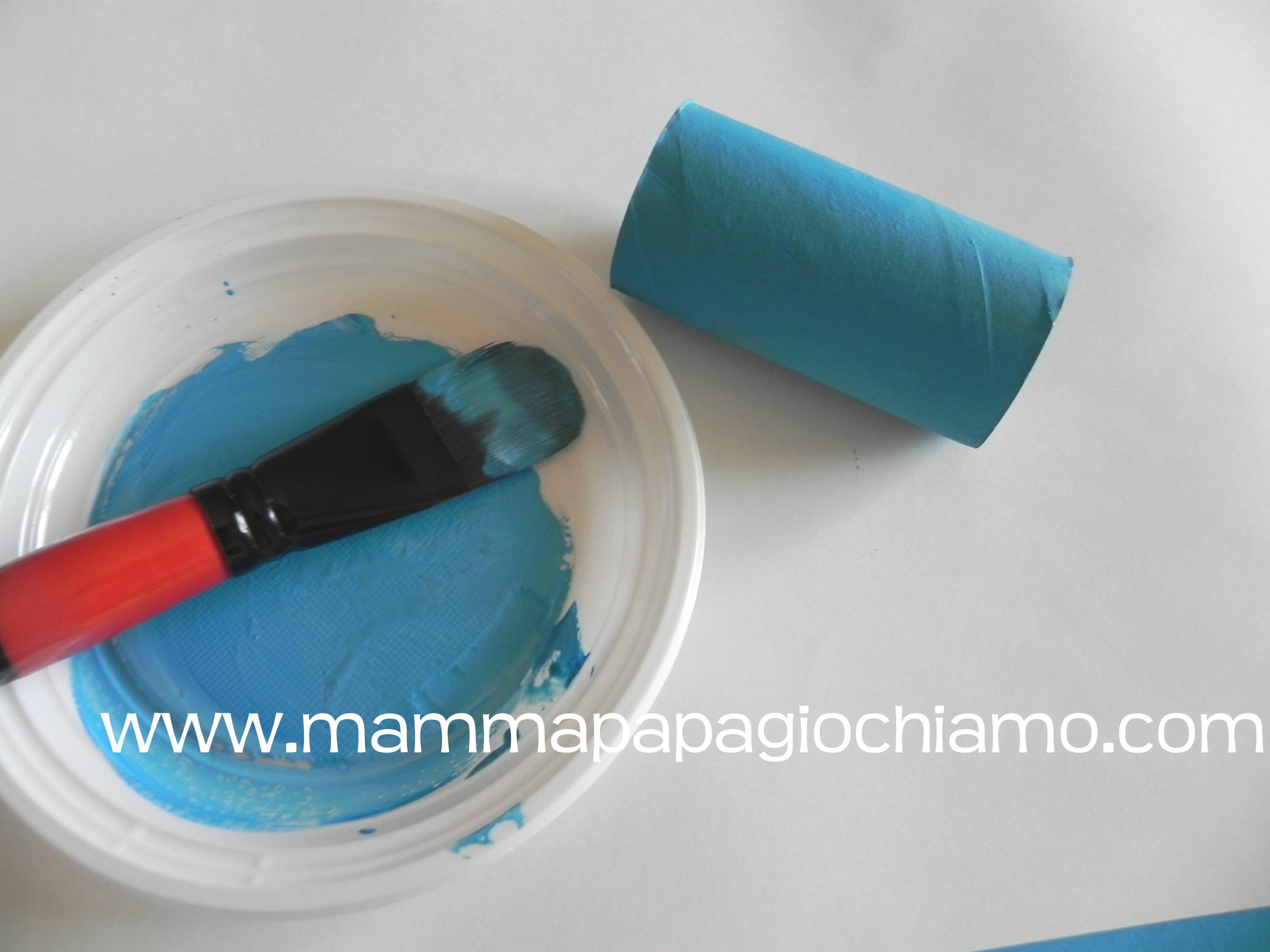 Rotoli Di Carta Igienica Riciclo : Ghirlanda natalizia con rotoli di carta