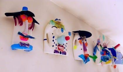 Maschere con materiali di recupero: il progetto dagli allievi del liceo Boccioni-Palizzi di Napoli
