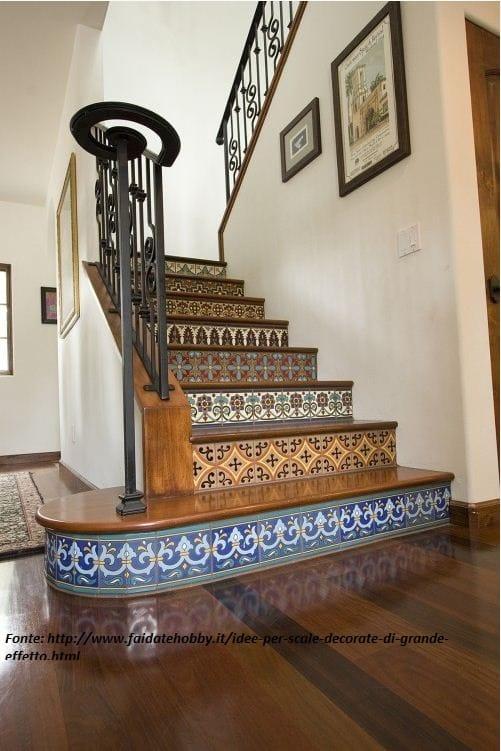 Souvent Come decorare le scale di casa con il fai da te, idee creative  SK19