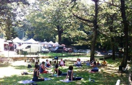 Free Yoga, le lezioni gratuite al Mercato Contadino di Ariccia