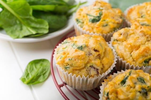 Muffin con le verdure