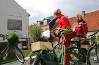 Riciclo bici, in Danimarca quelle rotte e abbandonate diventano giardini