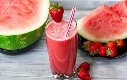 Frullato di anguria e uva, una ricetta energizzante e ricca di antiossidanti