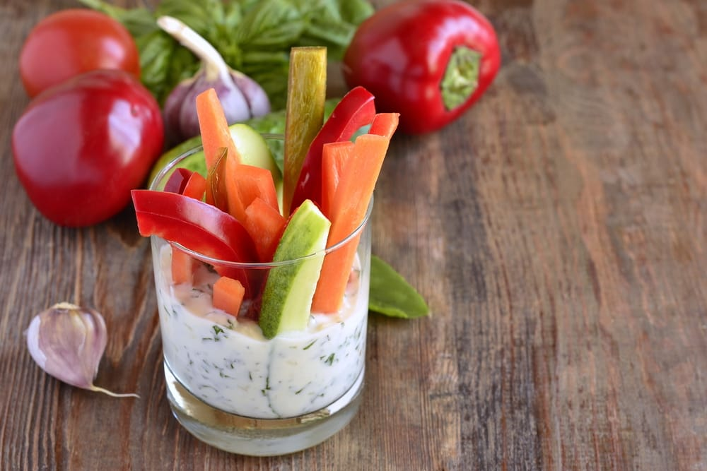 ricetta stick di verdure