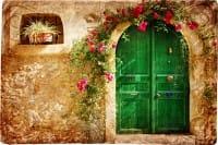 Vecchie porte: tante idee per riutilizzarle. Si trasformano anche in tavolini e fioriere (foto)