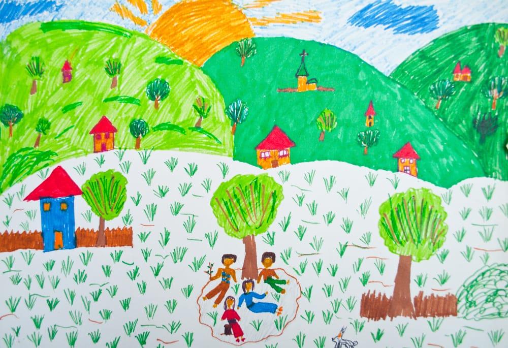come capire i disegni dei bambini non sprecare