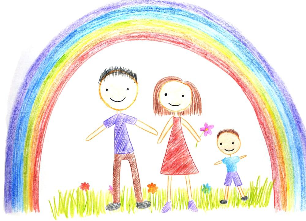 Come capire i disegni dei bambini non sprecare for Disegni di casa compatti