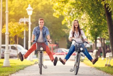 come dimagrire in bicicletta