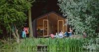 Casa di cartone Wikkelhouse: dura 100 anni e richiede una manutenzione minima (Foto)
