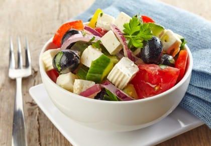ricetta insalata greca