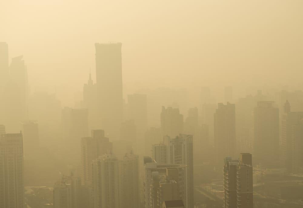 aumento CO2 nell'atmosfera