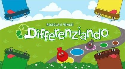 """""""Differenziando"""", il gioco da tavola per bambini sulla raccolta differenziata"""